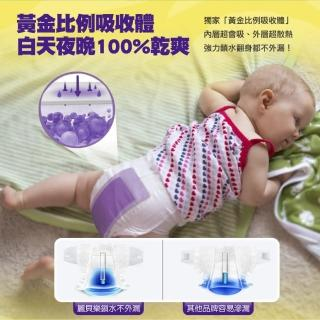 【麗貝樂】嬰兒尿布/紙尿褲-寶貝動物 豹紋設計款 歐洲原裝進口 箱購(XL/6號 44片×4包)