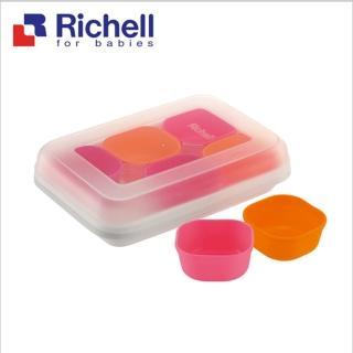 【Richell 利其爾】離乳食分裝盒_25ML_6入(副食品容器第一首選品牌)