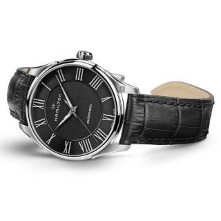 【HAMILTON 漢米爾頓】JAZZMASTER 爵士機械手錶-40mm(H42535730)