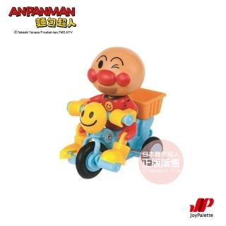 【ANPANMAN 麵包超人】前進吧!三輪車-隨機出貨(3歲 /益智玩具/腳踏車/發條玩具)