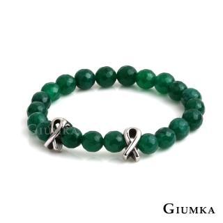 【GIUMKA】串珠瑪瑙 歐美潮流 多切面 彈性手鍊 黑膽石/ 瑪瑙 單個價格 單一尺寸 MH08070(多色任選)