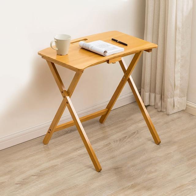 【HappyLife】楠竹摺疊學習桌