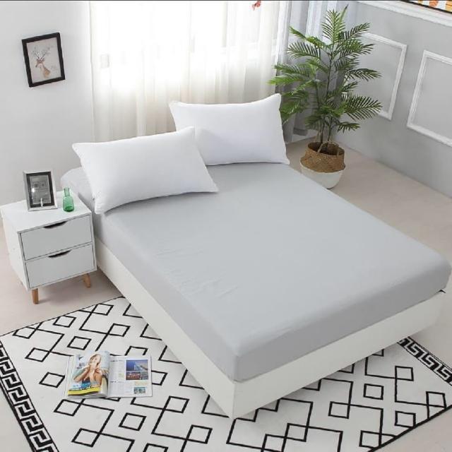 【買一送一】護理級100%防水防蹣抗菌床包式保潔墊(全尺寸任選/均一價)/