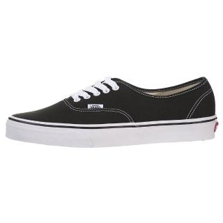 【VANS】AUTHENTIC 黑白 經典款 滑板鞋 帆布鞋 低筒 男女鞋(VN000EE3BLK)