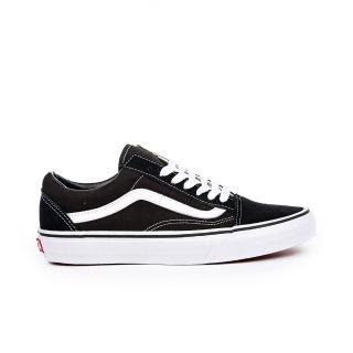 【VANS】OLD SKOOL 黑白 經典款 滑板鞋 帆布鞋 男女鞋 低筒(VN000D3HY28)