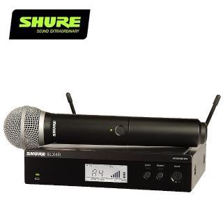 【SHURE】BLX24R / PG58 無線人聲系統(原廠公司貨)