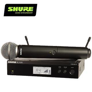 【SHURE】BLX24R / SM58 無線人聲系統(原廠公司貨)