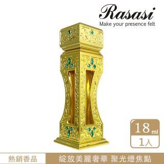 【Rasasi 拉莎斯】Sahar巨星風采 茉莉與玫瑰 香水精油18ml(奢華高級的玫瑰香水精油-官方直營)