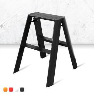 【MS】日本設計鋁合金二階工作梯(鋁梯 二階梯 人字梯)