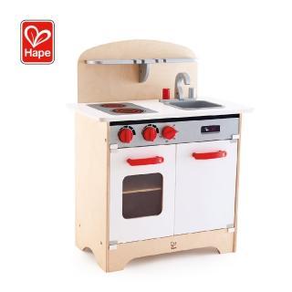 【Hape 愛傑卡】德式烹調美食廚房玩具(廚房組)