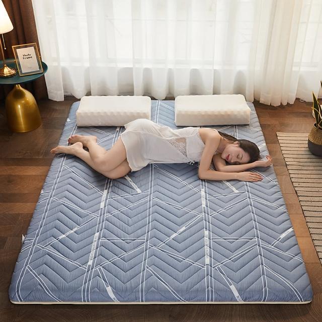 【巴芙洛】加厚透氣軟床墊單人(加厚透氣日式床墊 單人床墊)-防疫好眠