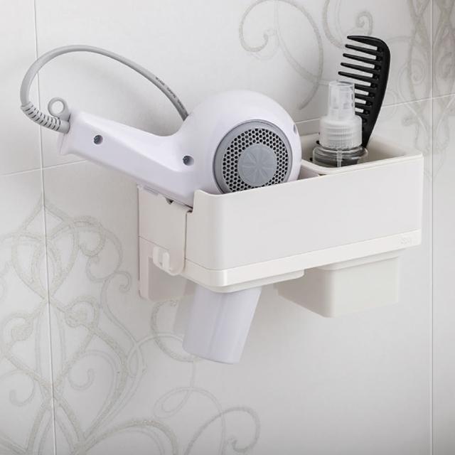【3M】無痕極淨防水收納系列吹風機收納架