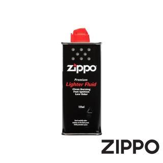 【Zippo】原廠打火機專用油 125ml(Zippo 原廠打火機專用油)