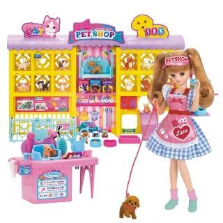 【Licca 莉卡娃娃】莉卡寵物美容店豪華組(女孩 洋娃娃)