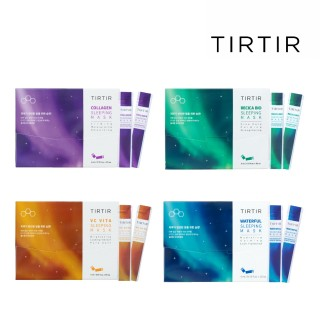 【TIRTIR】肌膚能量補充晚安面膜(亮白、保濕、撫紋、舒緩)