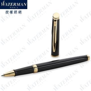 【WATERMAN】雋雅系列 麗雅黑金夾 鋼珠筆 法國製造(HEMISPHERE系列)