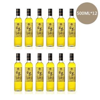 【賴記苦茶油】超值組-賴記-500ML*12瓶-低溫鮮榨苦茶油(贈送義大利進口兒童橄欖油1瓶)