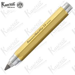 【KAWECO】素描鉛筆 黃銅原色 SKETCH UP BARSS Pencil 5.6 mm(草圖速繪)