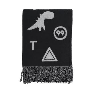 【agnes b.】Sport b. 圍巾(黑)
