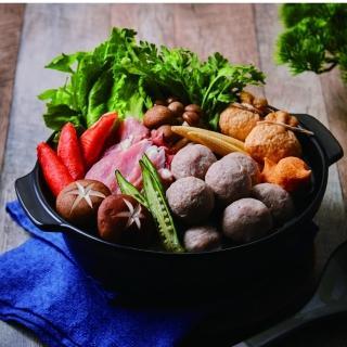 【大成】桐德黑豚肉貢丸(300g/包) 大成食品 海瑞貢丸(桐德黑豚 黑豬肉貢丸)(台灣豬)