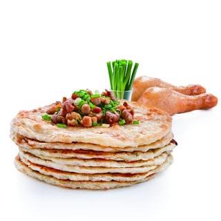 【大成】咕咕鮮雞派 香蔥肉餅(4片/ 560g /包)大成食品(蔥油餅 雞肉蔥油餅)
