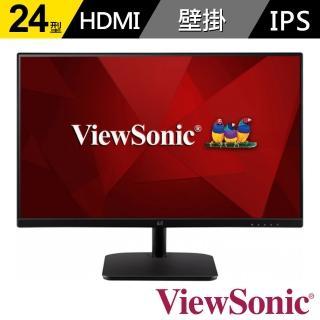 【ViewSonic 優派】VA2432-h 24型 IPS薄邊框顯示器