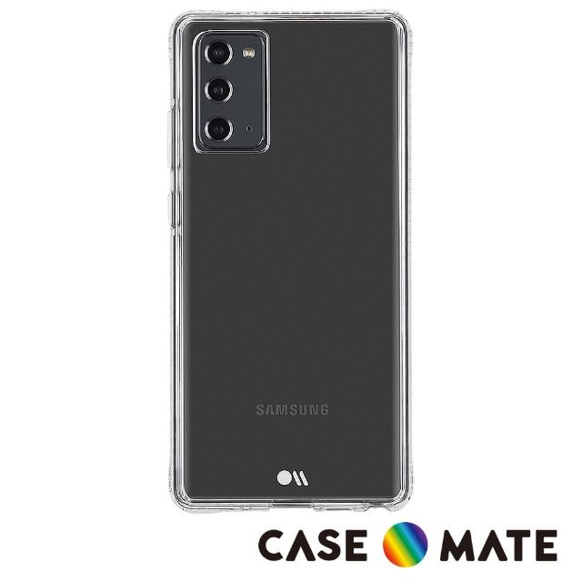 【CASE-MATE】美國 Case●Mate Samsung Galaxy Note20 5G Tough Clear+(環保抗菌防摔加強版手機保護殼)