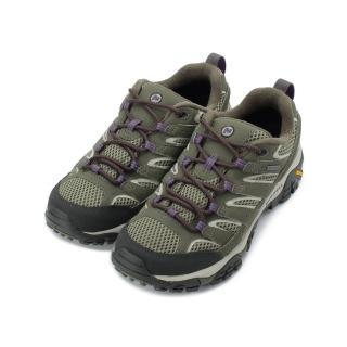 【MERRELL】US 6-9 女鞋 MOAB 2 GTX 登山健行鞋 橄欖綠 ML033466