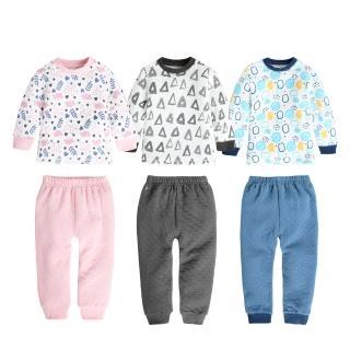 【Baby 童衣】長袖套裝 空氣棉居家套裝 兒童睡衣 12014(共三色)