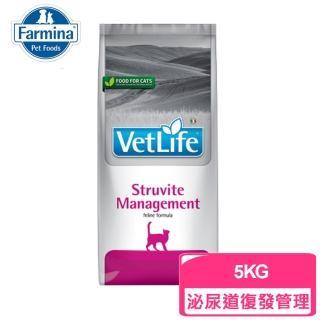 【Farmina 法米納】天然處方飼料 VCSM4-貓用泌尿道結石管理照護配方 5KG