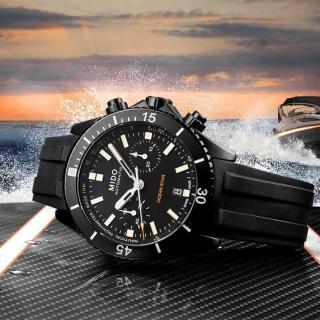 【MIDO 美度】Ocean Star 海洋之星陶瓷計時機械錶-44mm(M0266273705100)