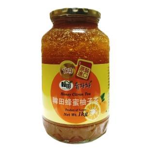 【韓田】蜂蜜柚子茶(1KG/韓國進口)