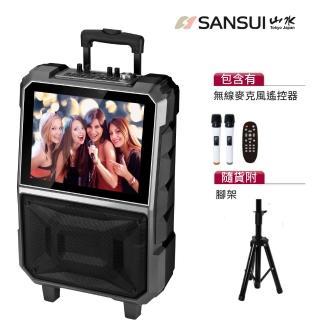 【SANSUI 山水】15吋觸控螢幕拉桿式行動KTV(SKTV-T888)(組合用)
