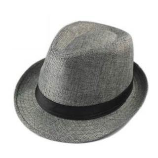 【米蘭精品】爵士帽禮帽(英倫夏日時尚亞麻情人節生日禮物男帽子67e22)