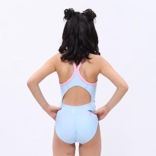 【MARIUM】女童泳裝 競賽泳衣 女童泳裝 泳衣 兒童泳裝-Flamingo(MAR-20087WJ)