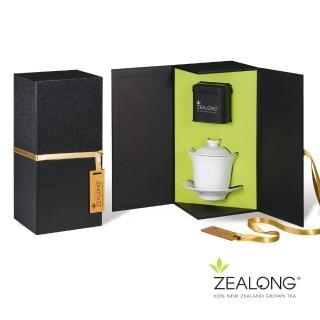 【Zealong 璽龍】御璽醇韻禮盒(精裝烏龍茶60g+淨白四件組)