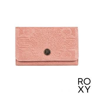 【ROXY】女款 配件 皮夾 CRAZY DIAMOND(粉紅)