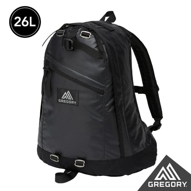 【Gregory】26L DAY PACK後背包(亮漆黑)