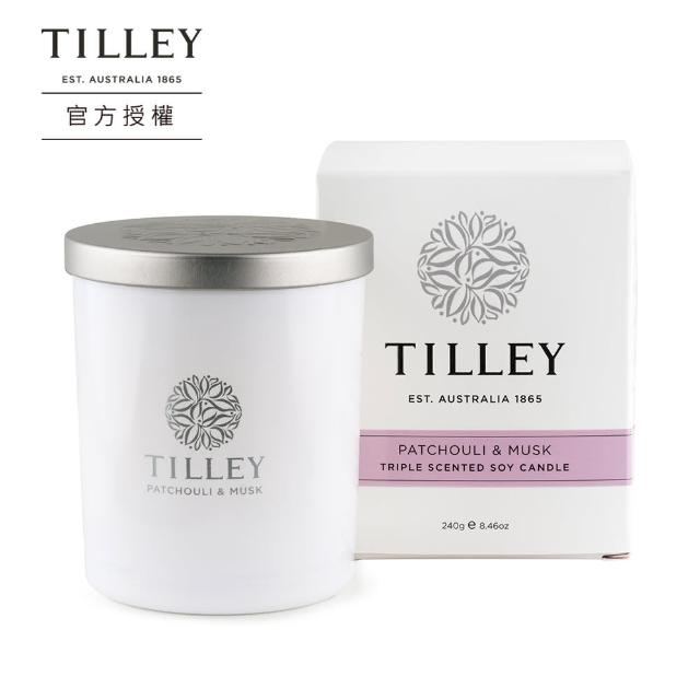 【Tilley 皇家特莉】澳洲原裝微醺大豆香氛蠟燭(共多款可選)