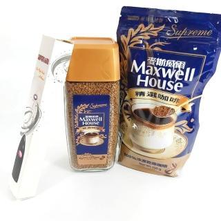 【Maxwell 麥斯威爾】精選咖啡超值組-附贈電動攪拌棒(170g/罐+150g/包)