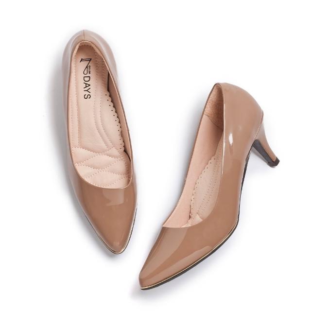 【FAIR LADY】網路獨家七日色階低跟/楔形/高跟女鞋(7色)