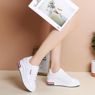【LN】現貨 厚底內增高韓版小白鞋(休閒鞋/平底鞋/增高鞋)