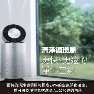 【4/1-4/30送mo幣$1000★LG 樂金】PuriCare 360°空氣清淨機 AS651DSS0(單層-銀色)