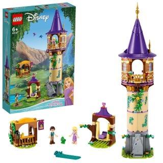【LEGO 樂高】迪士尼公主系列 樂佩公主的高塔 43187 公主 迪士尼(43187)