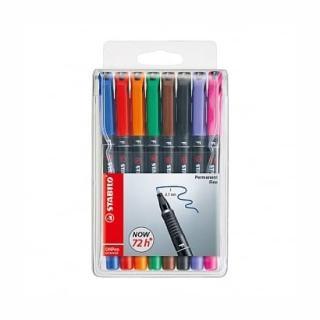 【STABILO】STABILO思筆樂OHPen universal永久性萬用油性筆0.7mm F-8色組