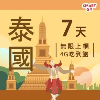 【TEL25】泰國網卡上網卡 7日 4G上網 吃到飽上網SIM卡(不限流量 插卡即用)