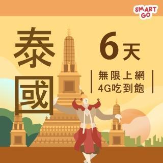 【TEL25】泰國網卡上網卡 6日 4G上網 吃到飽上網SIM卡(不限流量 插卡即用)