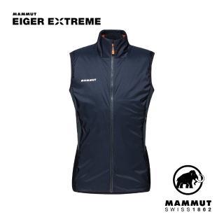 【Mammut 長毛象】Eigerjoch IN Hybrid Vest Men 極限艾格防風防潑水保暖背心 夜藍 男款 #1013-01730