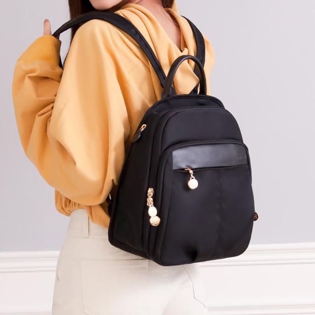 【CHENSON】外出最愛中尺寸8口袋後背包 媽媽包 尼龍包 防潑水 共二色(CG83329)