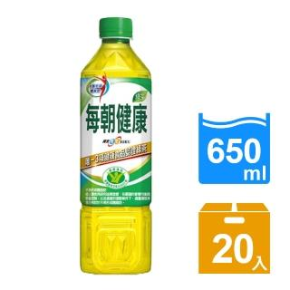 【每朝健康】健康綠茶650ml 4入x5組(共20入)